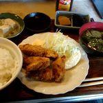 桜家 - 料理写真:カキフライ定食