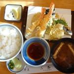二条 - 上天ぷら定食