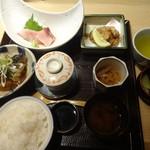 ふくいや - ランチ:冬の味覚御膳(確か1000円)