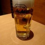 カレーうどん 千吉 - 生ビール