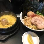 60420247 - 黄金つけ麺(並)全部乗せ・1140円