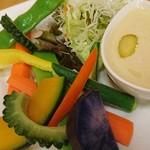 60421279 - 島野菜のバーニャカウダ