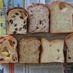 60421384 - 2016年12月 お試しセット 7種類の食パン系が1枚ずつスライスで入ってます