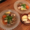 Thipin - 料理写真:前菜5種盛り合わせ&サラダ と バケット