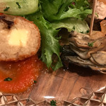 TPIN - 前菜5種盛り合わせ&サラダ