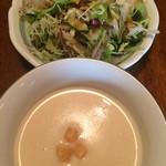 洋食や とんちんかん - ランチセットのサラダおかわり一杯可能
