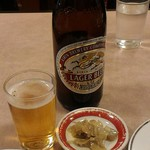 60423624 - 瓶ビール580円、税別
