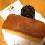 ミツバチ - 料理写真:禅師丸の柿ワインケーキ