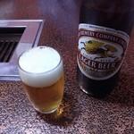 新宿茶屋 - ドリンク写真:瓶ビール(大瓶) 525円