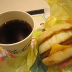 マクドナルド - コーヒーも美味しかったです。