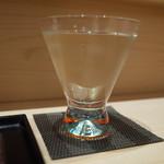 鮓 芳月 - 酒(15'07)