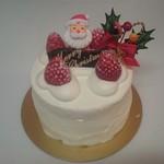 60426628 - 生クリーム・クリスマスケーキ4号 2600円