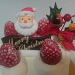 60426646 - 生クリーム・クリスマスケーキ4号