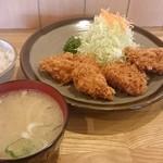 とんかつ大関 - ヒレカツ定食1,700円