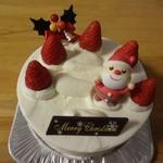 アジュール - クリスマスケーキ2015