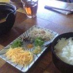 鶏飯食堂 HABUS - 鶏飯セット(1000円)
