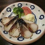 IDEMOTO - 鯖の燻製