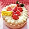 COOP - 料理写真:クリスマスケーキ!!ヾ(o´∀`o)ノワァーィ♪