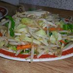 60430553 - 野菜炒め 680円(定食の場合)。肉は入っていません。野菜のシャキシャキ感は絶妙です。