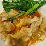 中国料理 鈴 - 紅油水餃(四川水餃子) 600円