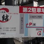 一文字 結 - 離れの駐車場位置説明