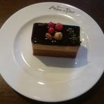 赤レンガカフェ - チョコケーキ