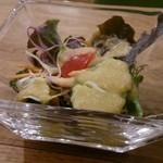 クアトロハーツカフェ - (ランチ)サラダ