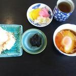 眺望亭 川忠 - 最初のセット
