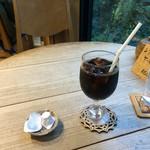 カフェ せせらぎ - アイスコーヒー。