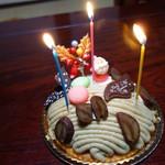 60436289 - モンブランのクリスマスケーキ