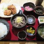 文楽 - ごちそう定食 1000円