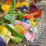 バローレ - 季節のお野菜の盛り合わせ(要予約)