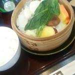 箱根 明か蔵 - 野菜せいろ膳をいただきました。