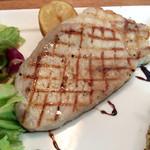 ワイン食堂 ル・プティ・マルシェ - 豚ロース肉のグリルステーキ(+300円)