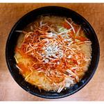 らーめん 味噌や - 料理写真:「赤ネギ味噌ラーメン・3辛」