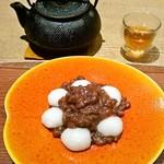 たねや茶屋 - 搗き餅 小豆 648円(税込)