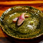 やたい家 - 【2016.11】藁でいぶした鯖  香りが最高です。