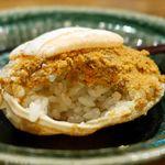 やたい家 - 【2016.11】香箱蟹の蒸し寿司