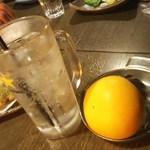 だんまや水産 - <飲み放題>生レモンチューハイ(2016.12.21)