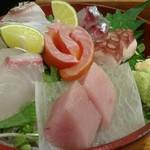"""仕事人 - 料理写真:瀬戸内の""""海の幸""""満載 刺し盛"""
