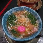 らぁ麺 鯛あたり - 料理写真:海乾しお