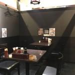 香香厨房 - 【2016年10月】店内、さっきまで、隣で食べてたので、全然個室では無かったし、説明もなかった。