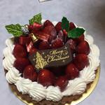 シュクルボワ - 2016年12月下旬 クリスマスケーキ ¥3.300