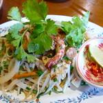 60444795 - フォーサオ(950円)ベトナムの米麺の焼きそば。野菜たっぷり!