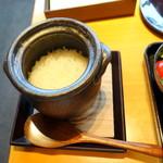 日本料理 佳香 - 和朝食3,683円の一人用土鍋ご飯