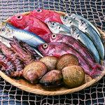 さなだ - 料理写真:新鮮な魚介!!