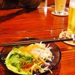 アジアンキッチン KAPI - カレーに付いていたサラダ
