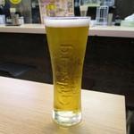鶏介 - 生ビール