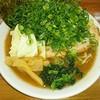 ゆき坊 - 料理写真:魚介豚骨ラーメン+ねぎ