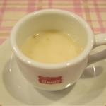 銀座スイス - サービスランチ(ミックスフライ)@1,000円+税 のスープ